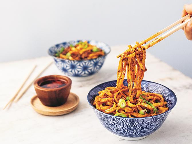 Dan dan-nudlar – streetfood från Sichuan