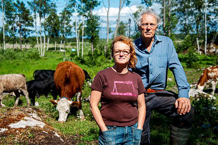 """Klimatsmart mat handlar inte främst om vi ska ha kött eller vegetabilier på tallriken utan vilket samhälle vi ska ha"""", säger Ann-Helen Meyer von Bremen."""