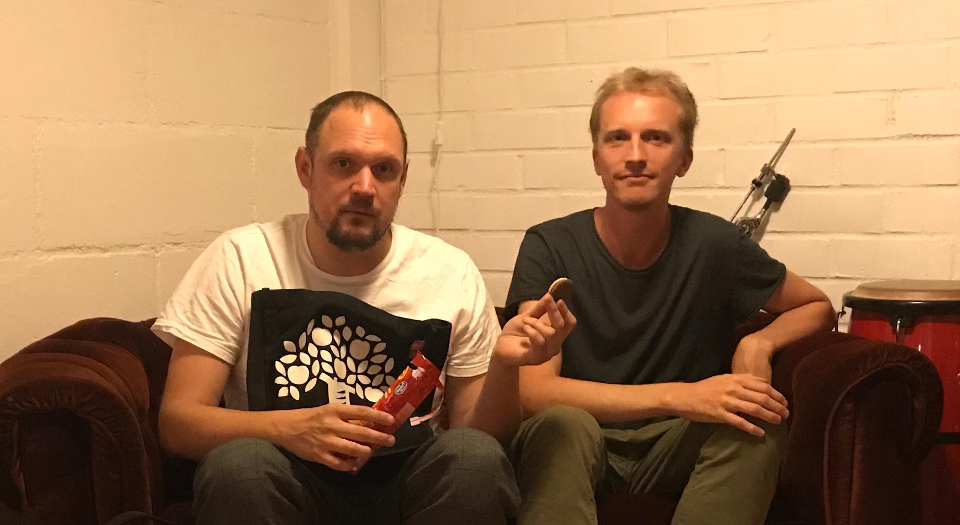 Jonatan Unge och Ola Söderholm – i veckans podd är Jonatan med på länk.