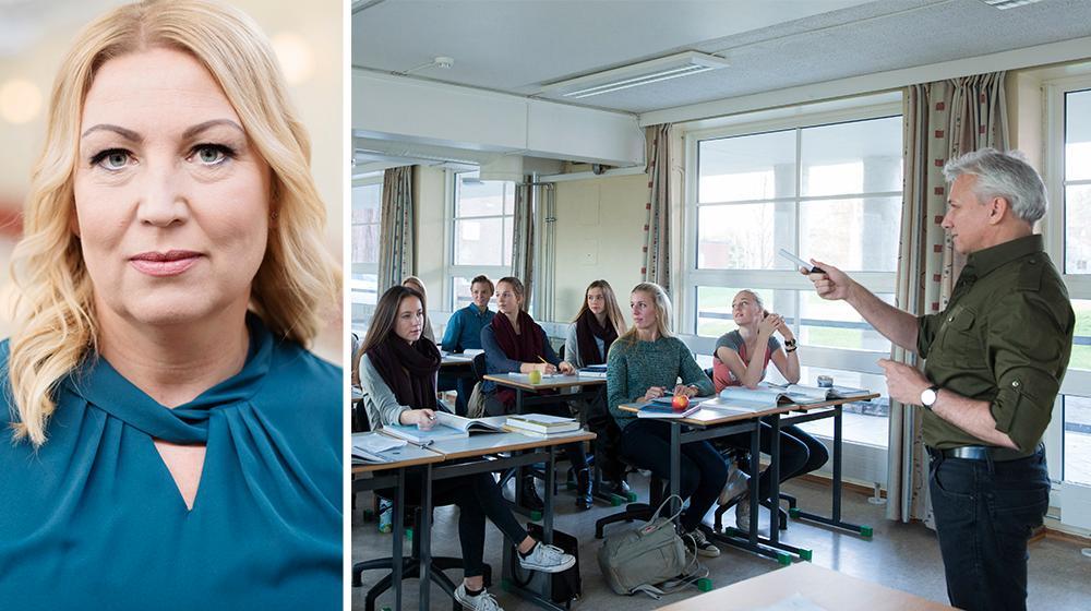 Lärarkåren måste enas och samlas i en organisation. Annars kan arbetsgivare och politiker fortsätta att spela ut lärarfacken mot varandra, skriver Johanna Jaara Åstrand, förbundsordförande i Lärarförbundet.