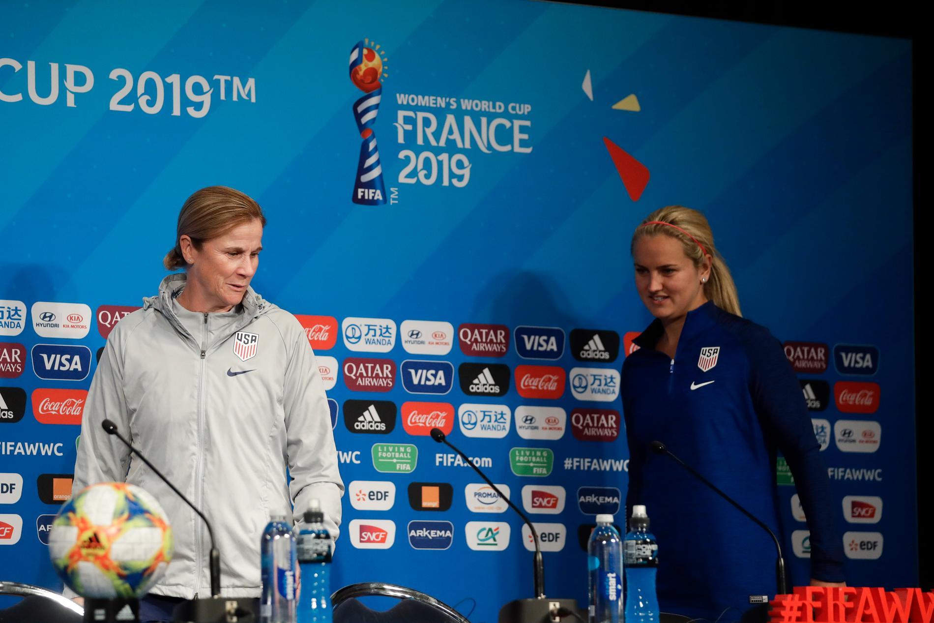 Jill Ellis är förbundskapten för USA 2019.