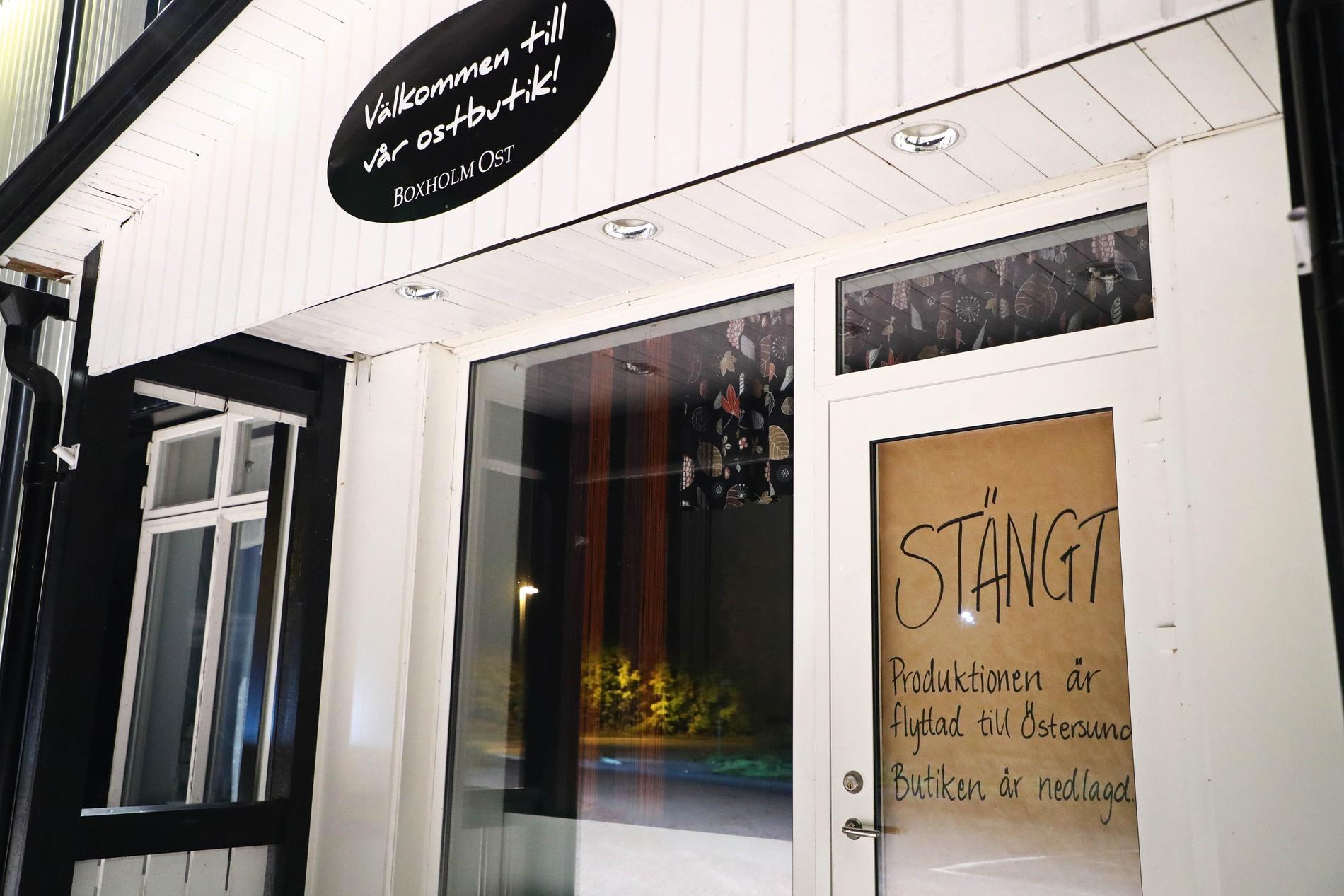 Tillverkningen av Boxholms ost har flyttat från Boxholm till ÖStersund.