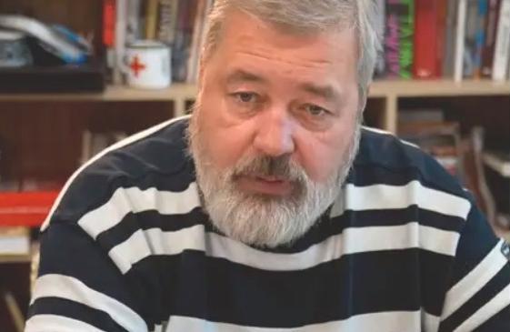 Dmitrij Muratov är chefredaktör för tidningen Novaja Gazeta som betraktas som den mest fristående tidningen i Ryssland.
