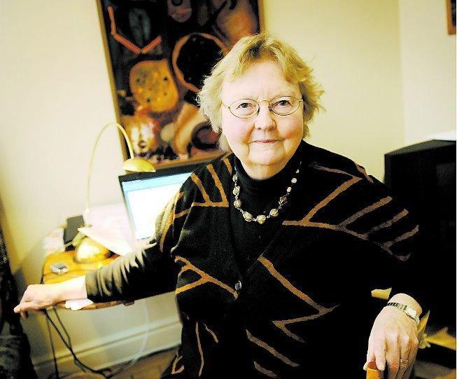 """Besviken """"Jag tror att det blir svekdebatt i centerpartiet"""", säger Birgitta Hambraeus."""
