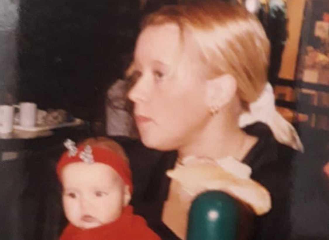 Sandra Krantz och dottern Julia.