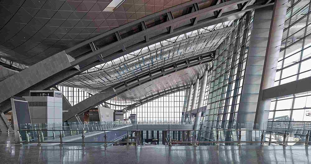 Hamad International Airport sägs vara den lyxigaste i världen.