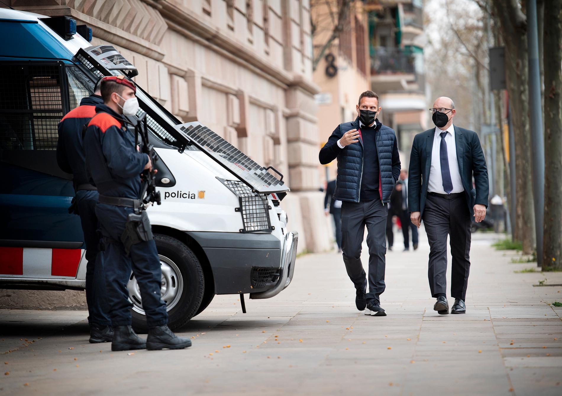 Operation Playa-rättegången drog igång i Barcelona på tisdagen.