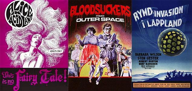 Den nya strömningstjänsten Cultpix tillhandahåller bland annat skandinaviska erotiska filmer, amerikansk skräck och kultig scifi. Pressbild.