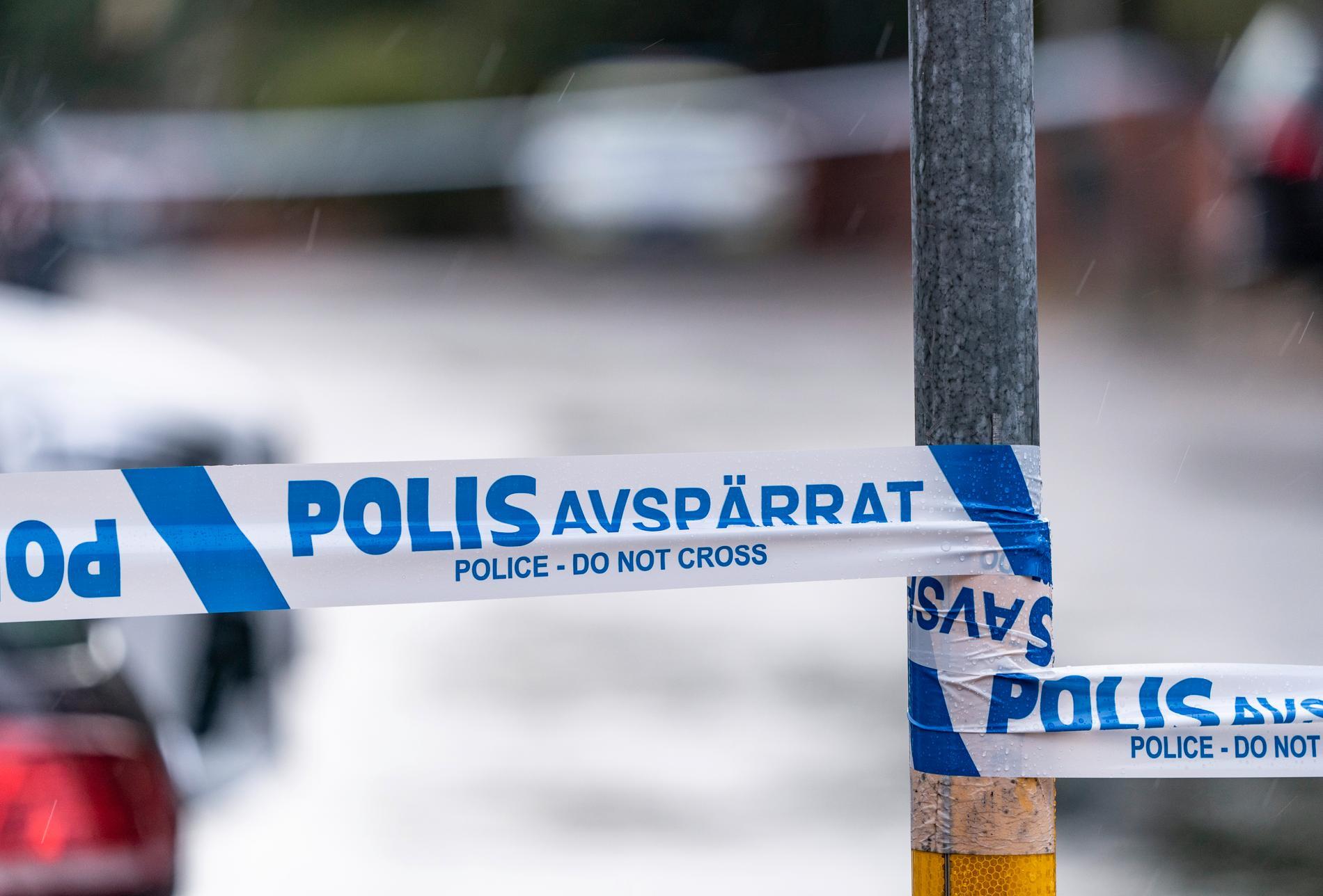 Ett stort område fick spärras av när ett bombliknande föremål hittades i Backa i Göteborg. Arkivbild.