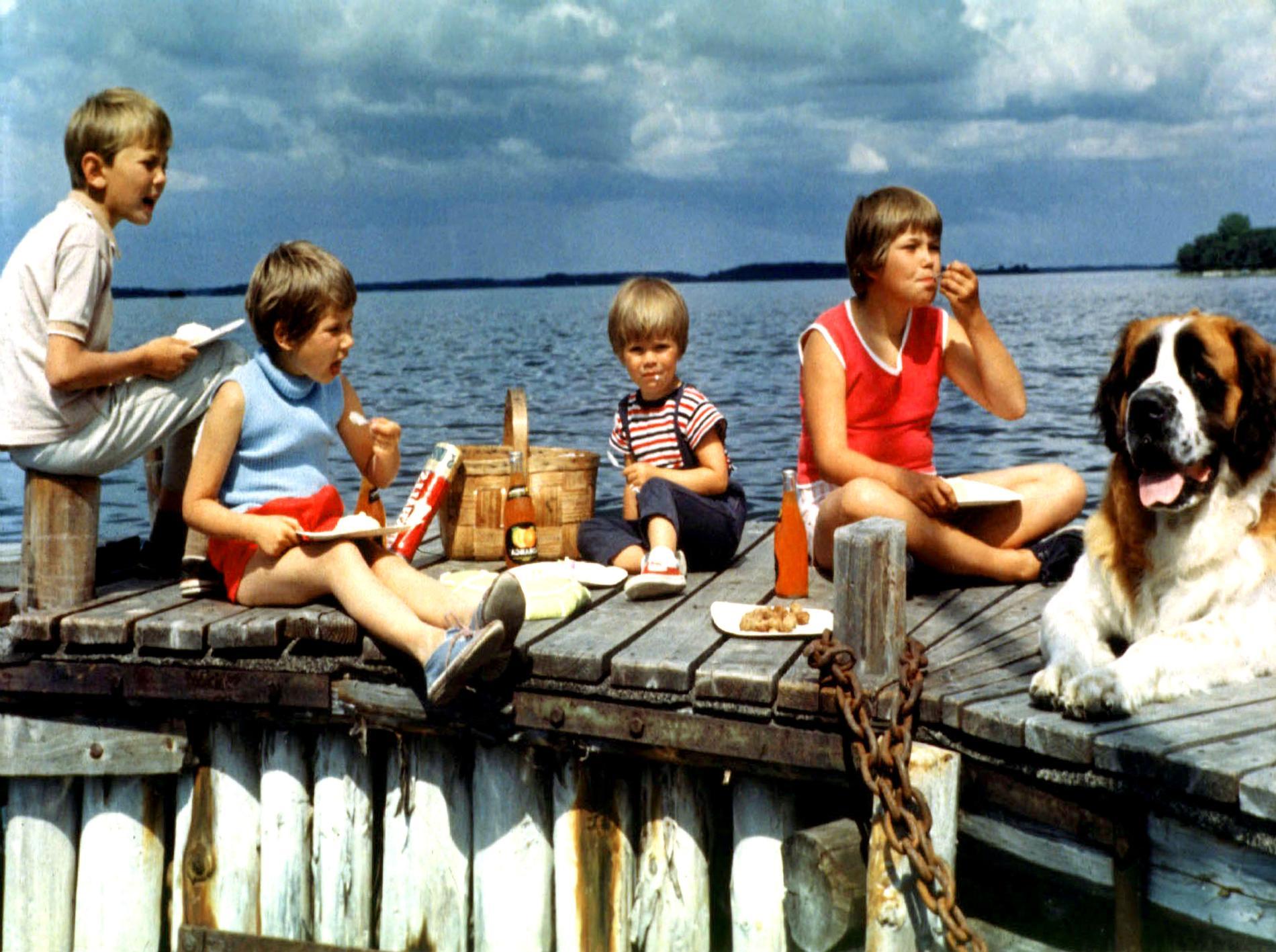 """""""Vi på Saltkråkan"""" spelades in sommaren 1963."""