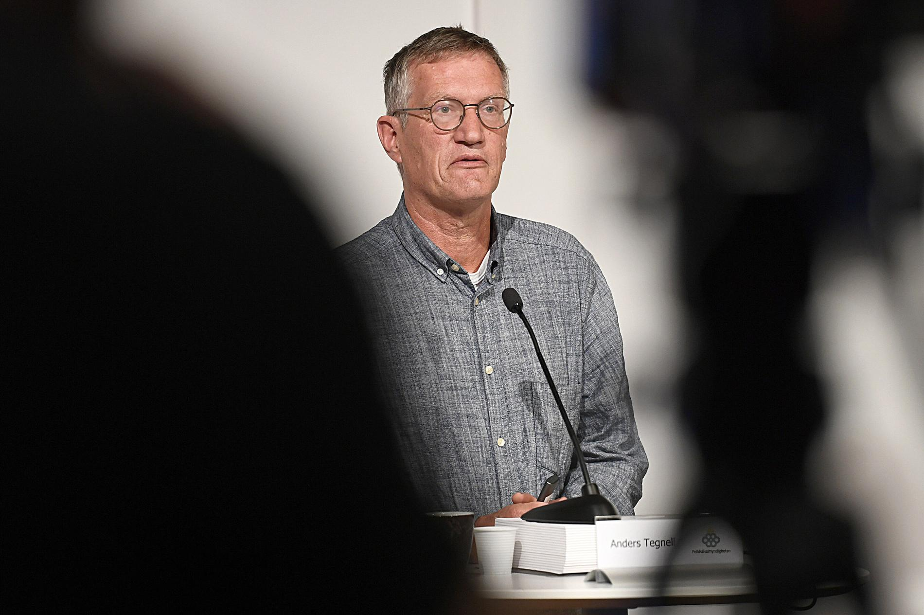 Anders Tegnell, statsepidemiolog på Folkhälsomyndigheten.