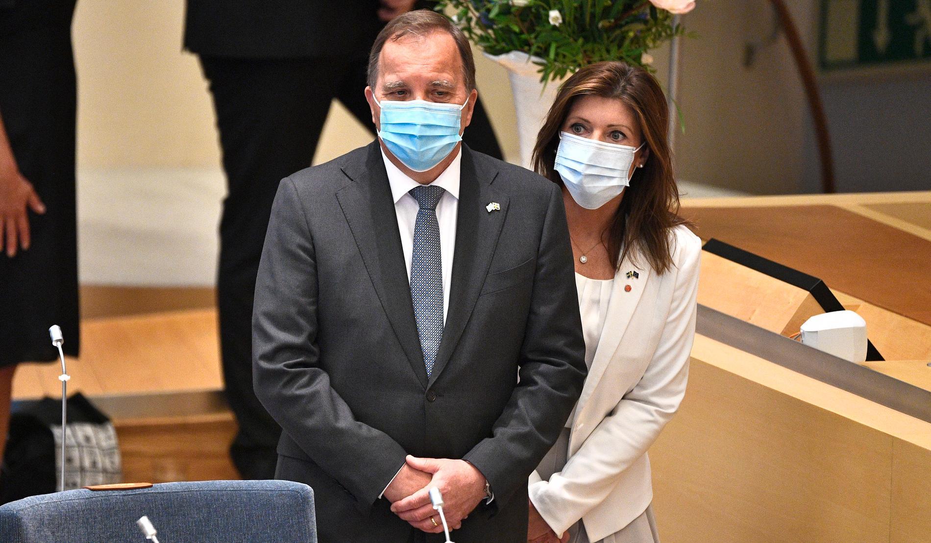 Vänsterpartiet röstade tillsammans med M och KD för Sverigedemokraternas misstroende mot statsminister Stefan Löfven i måndags. Då föll regeringen.