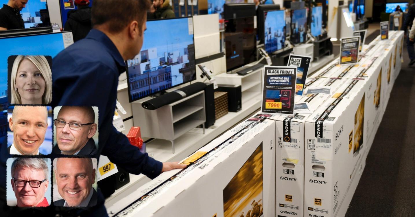 Regeringen vill beskatta elektronik för att minska användningen av flamskyddsmedel.  Men enda effekten är dyrare prylar och att svenska jobb – och skatteintäkter – försvinner, skriver debattörerna.