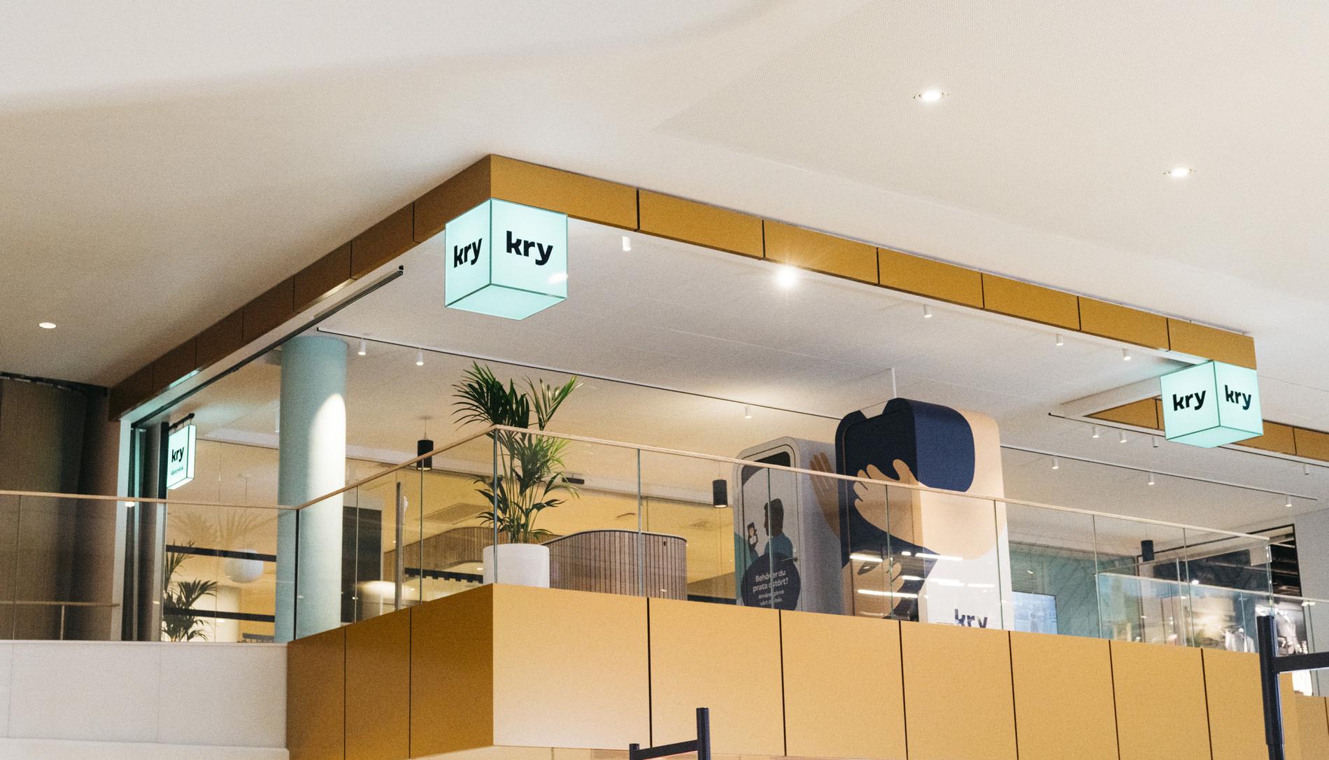 Kry har öppnat en ny vårdcentral i Gallerian.