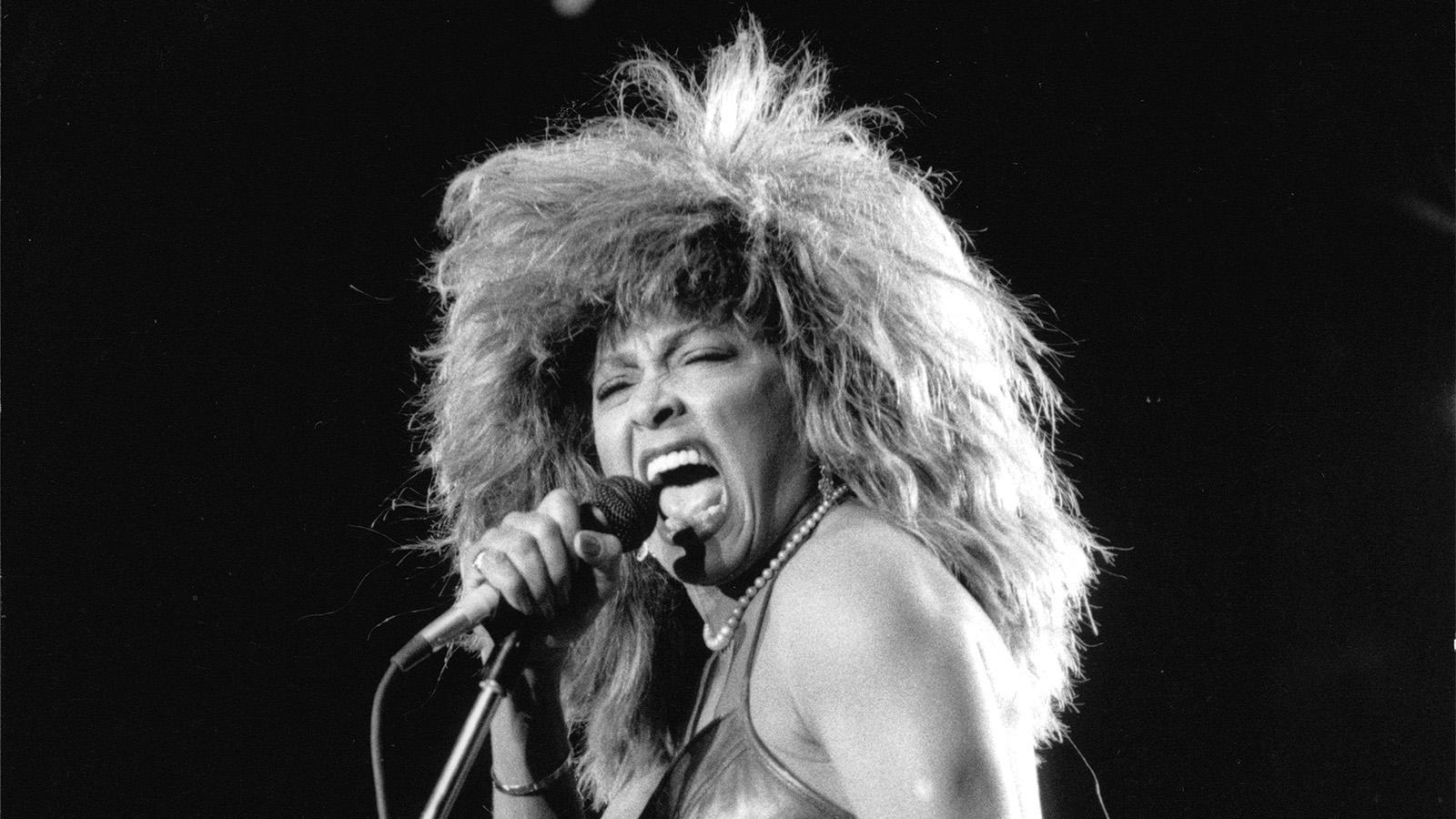 Tina Turner i Sverige 1987.