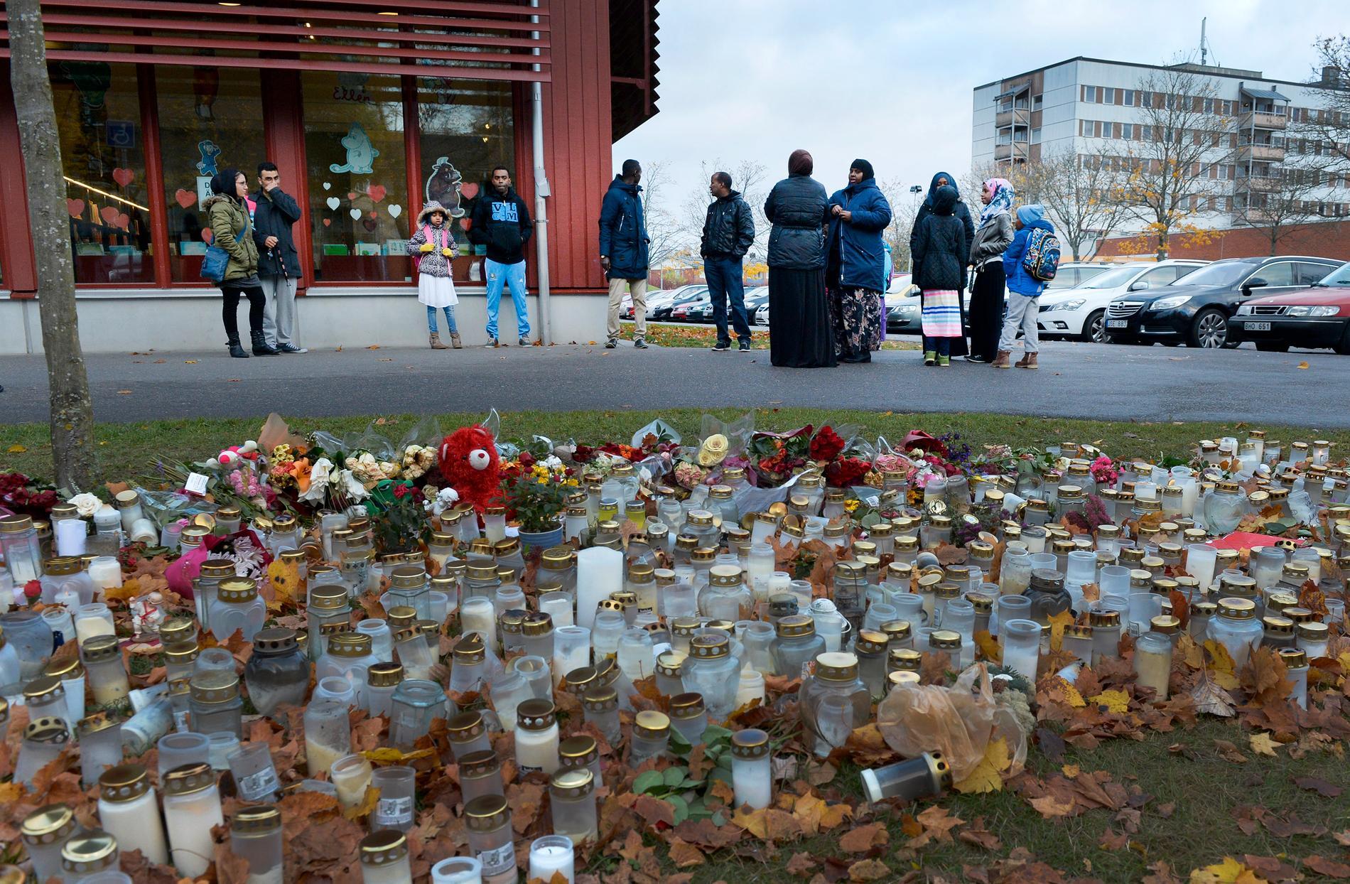 Tre personer dog efter att Anton Lundin Pettersson gick till attack med kniv och svärd mot personal och elever på Kronans grundskola i Trollhättan 2015. Dådet var ett hatbrott med rasistiska motiv.