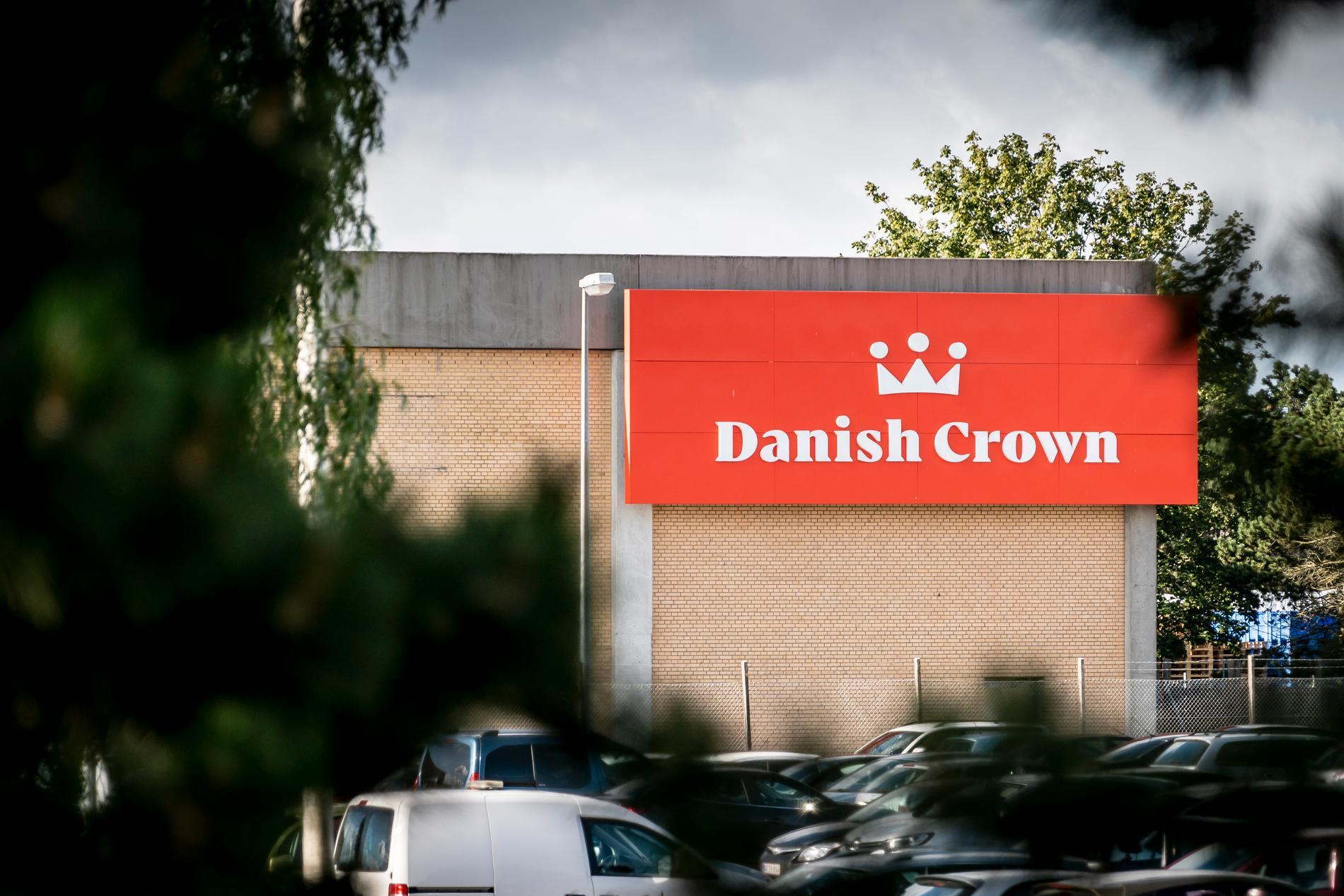 På slakteriet Danish Crown har 32 personer bekräftats med covid-19.