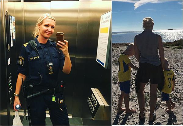 Åsa Wulff: Än så länge har inget allvarligt hänt mig och min familj och jag lever i dag, som så många, många andra kollegor, ett helt normalt liv trots att jag vet att det finns en hotbild mot mig. En hotbild jag som polis förväntas hantera och acceptera.