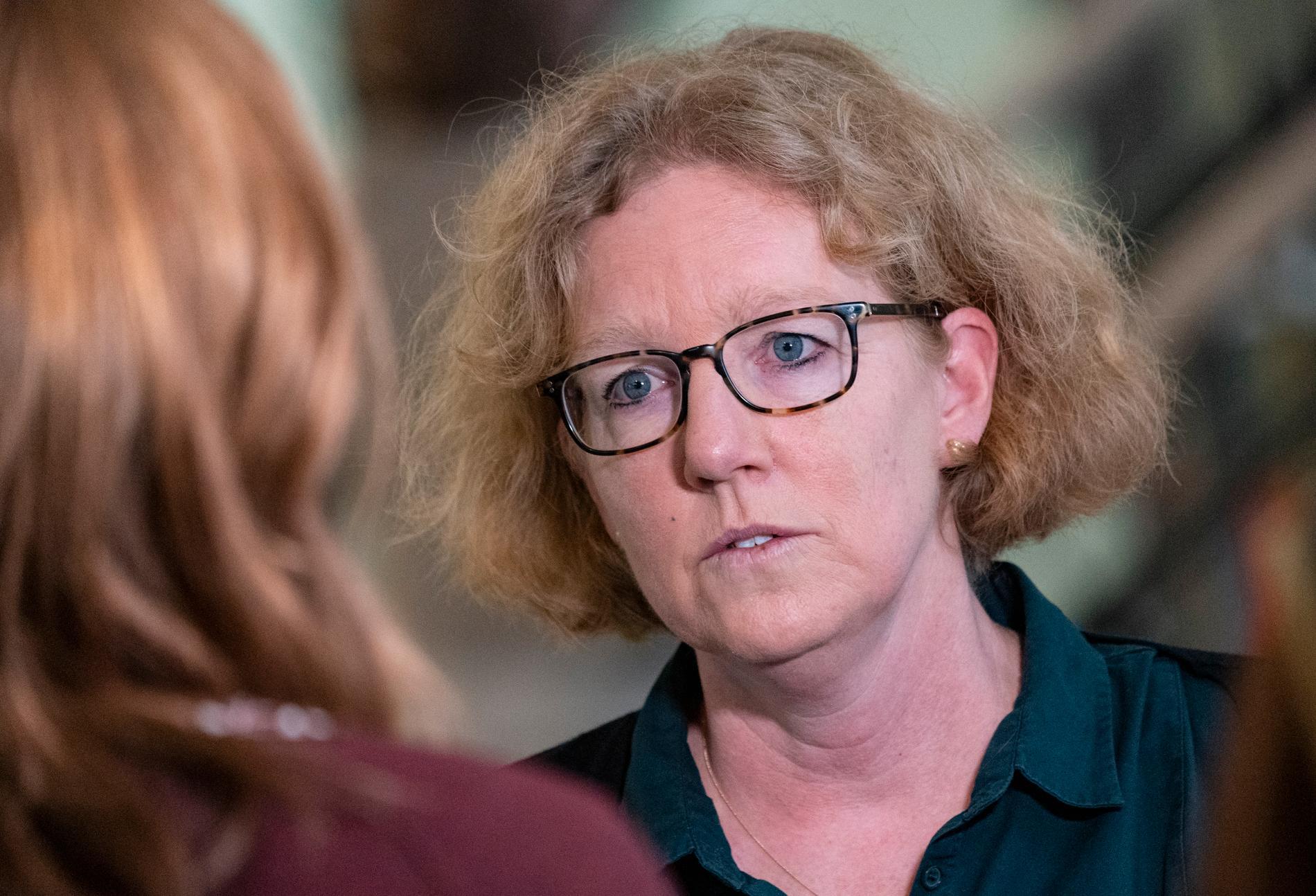 Eva Melander, smittskyddsläkare Region Skåne.