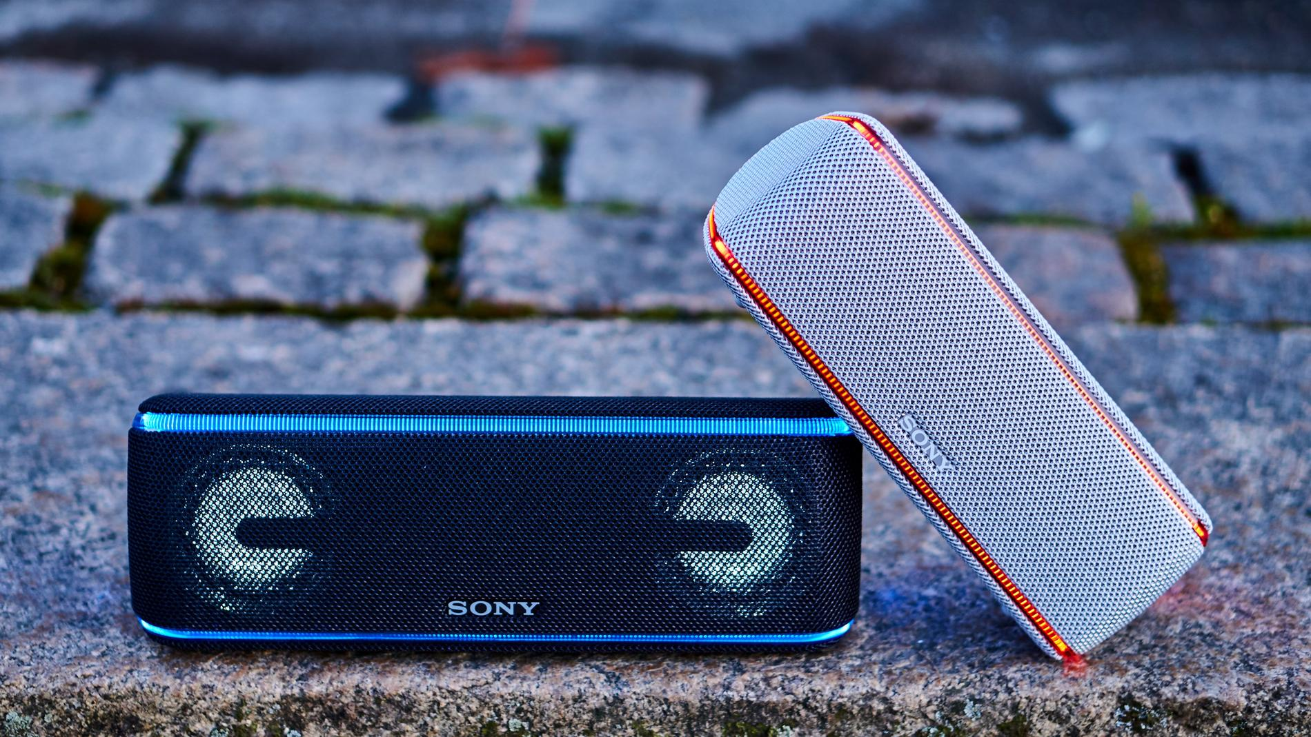 Sony SRS-XB41 och SRS-XB31.
