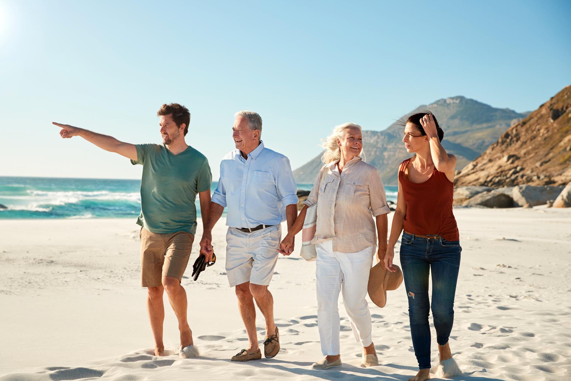 Svenska millennials reser gärna med sina föräldrar.