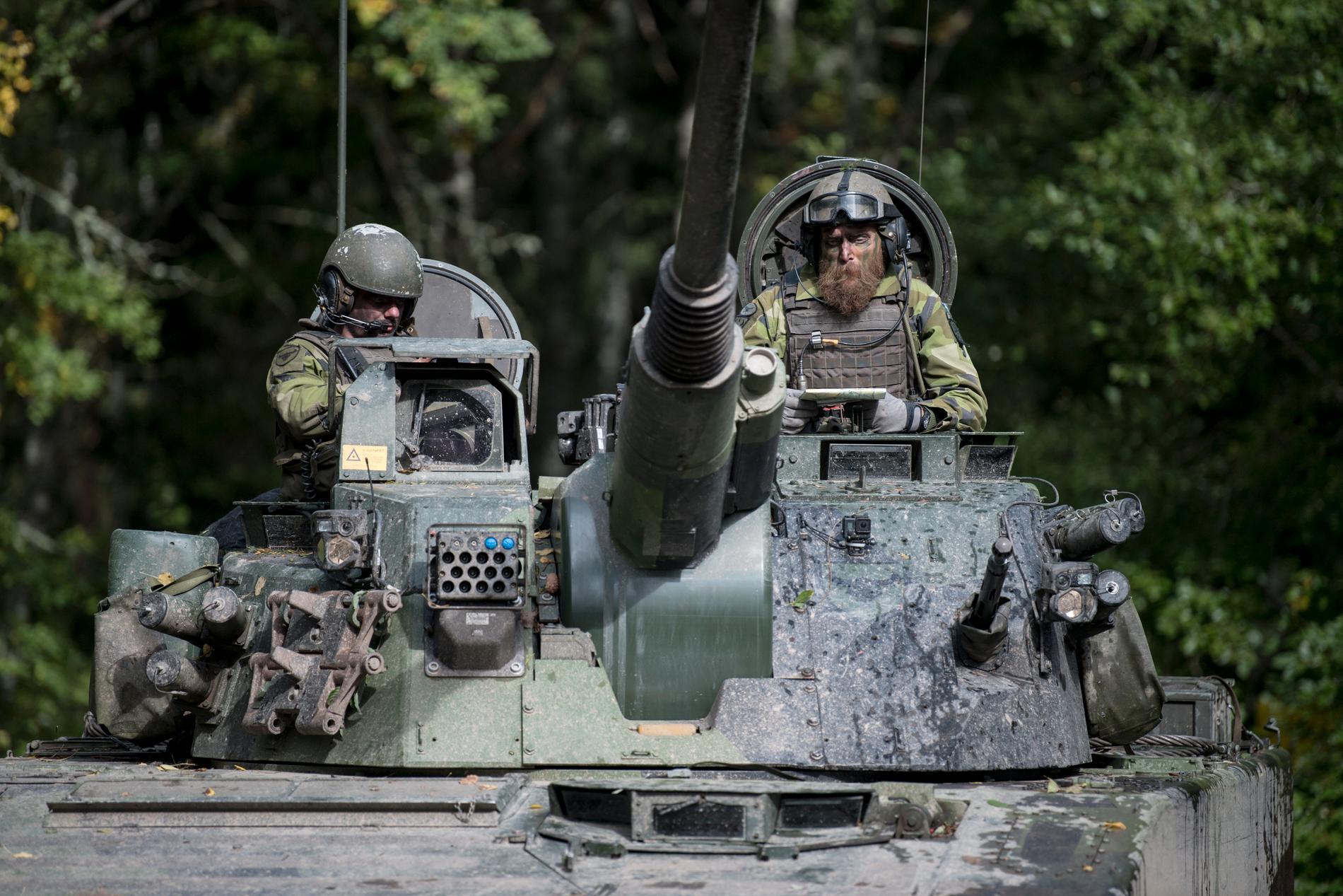 Skaraborgs regemente i Skövde kommer att bli säte för en av de tre brigaderna, enligt SVT. Arkivbild.