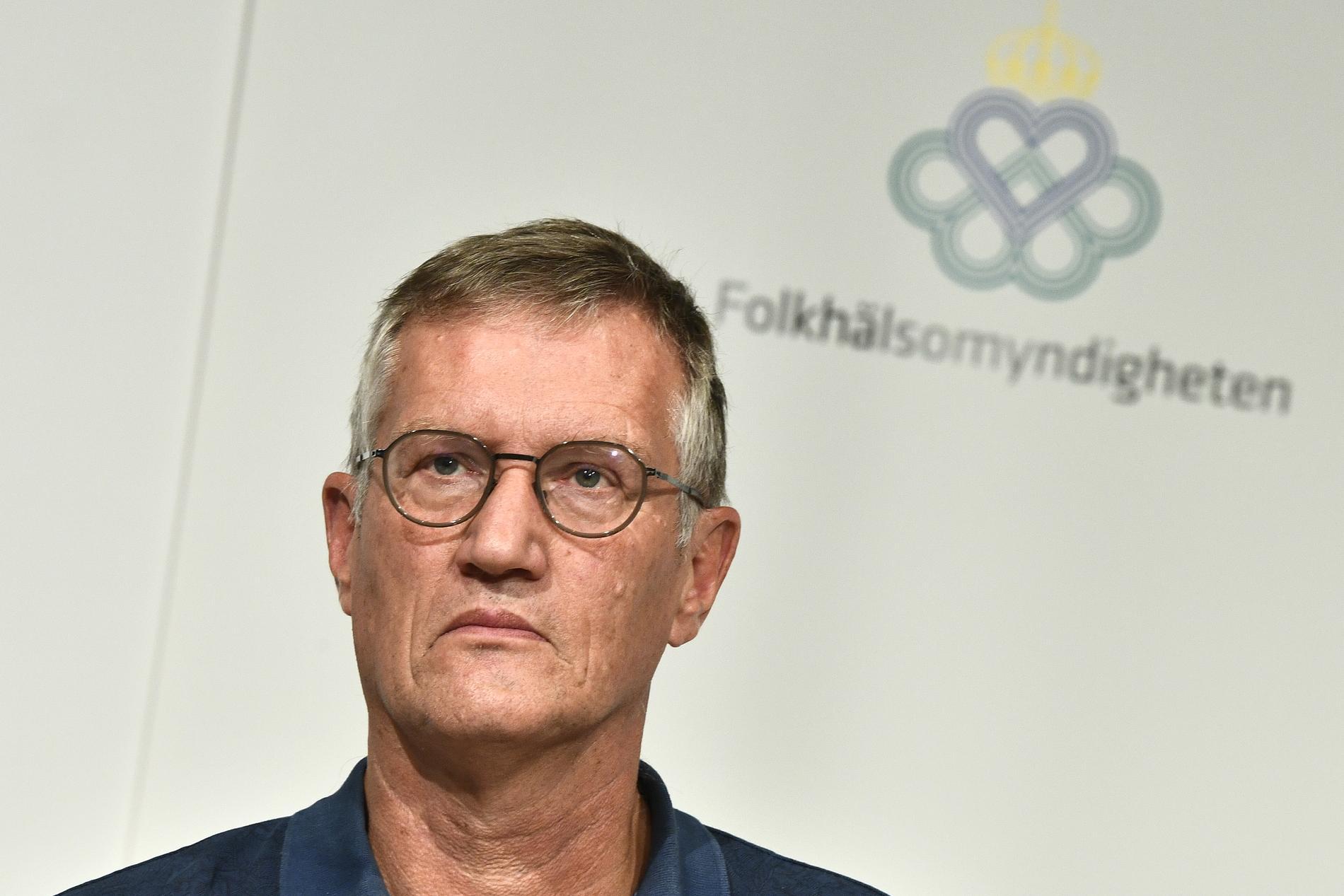 """Anders Tegnell, statsepidemiolog vid Folkhälsomyndigheten, har utsetts till """"Årets viktigaste svensk"""" av Icakurirens läsare. Arkivbild"""