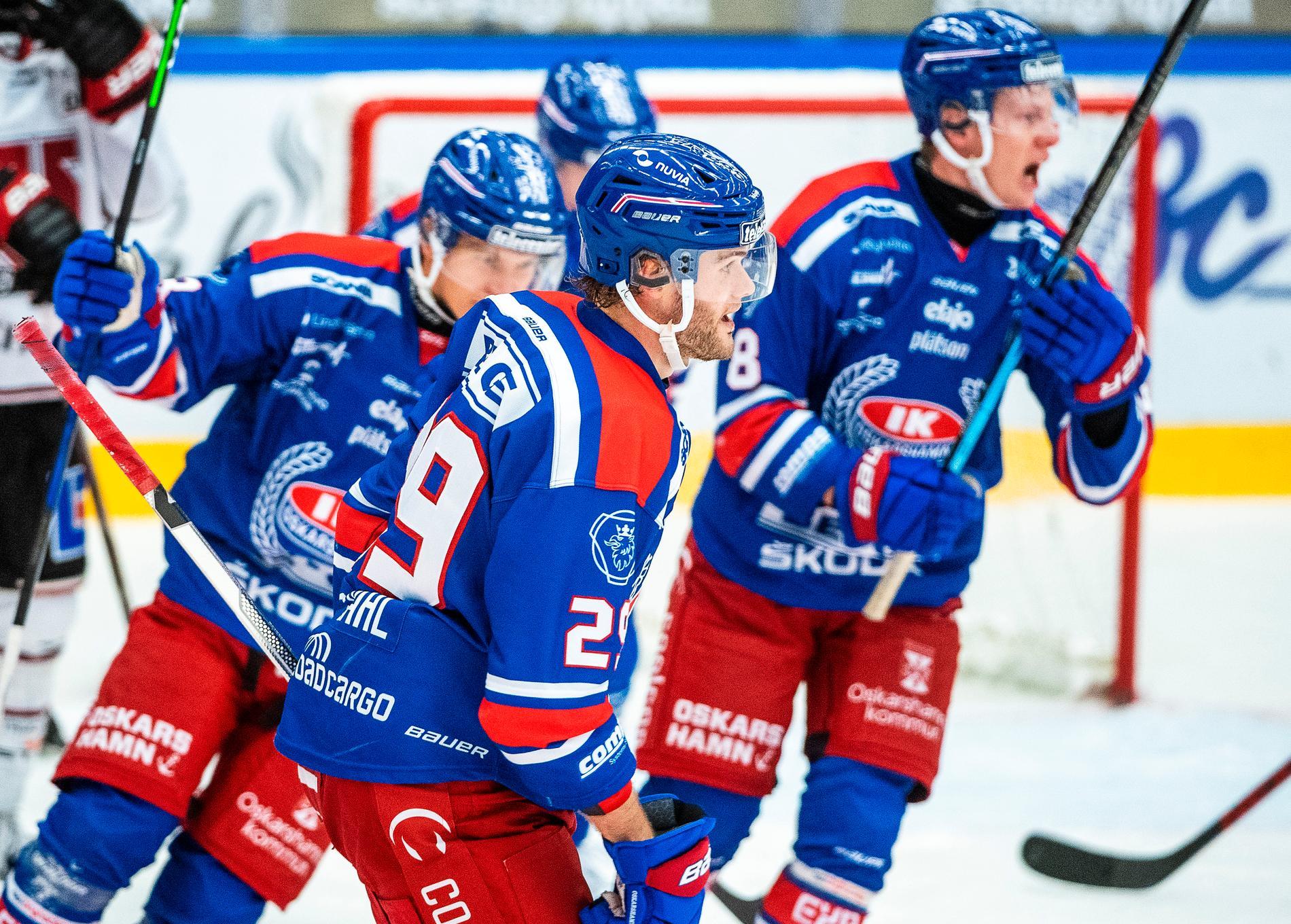 IK Oskarshamn blir första laget i SHL att ta febern på alla som befinner sig på arenan.