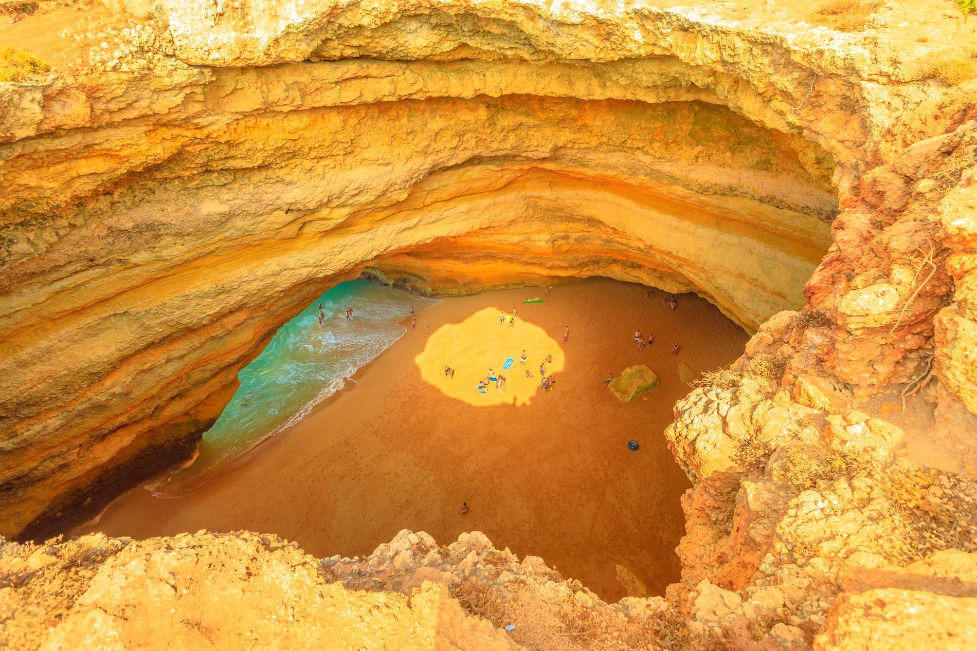 Benagil Cave går endast att ta sig till med båt.