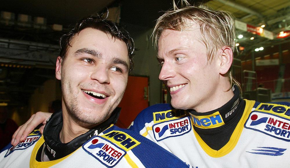 Stefan Liv och Johan Davidsson