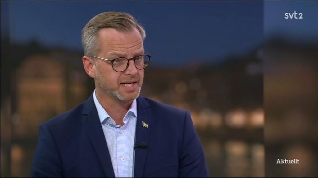 Mikael Damberg gästade SVT:s Aktuellt på onsdagskvällen.