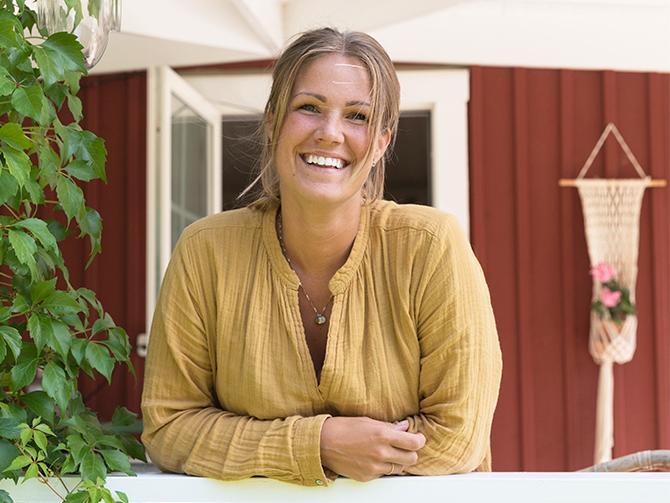 Debora och familjen bor i Funbo, strax utanför Uppsala.