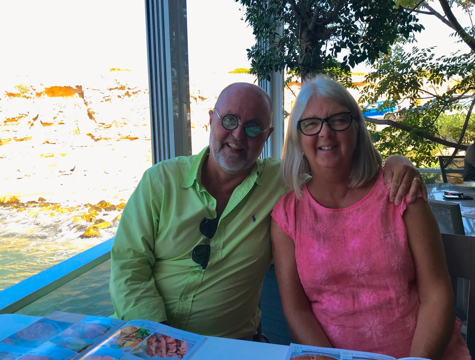 Bosse och Ewa Lindqvist har hittat sitt drömboende i Norra Cypern.