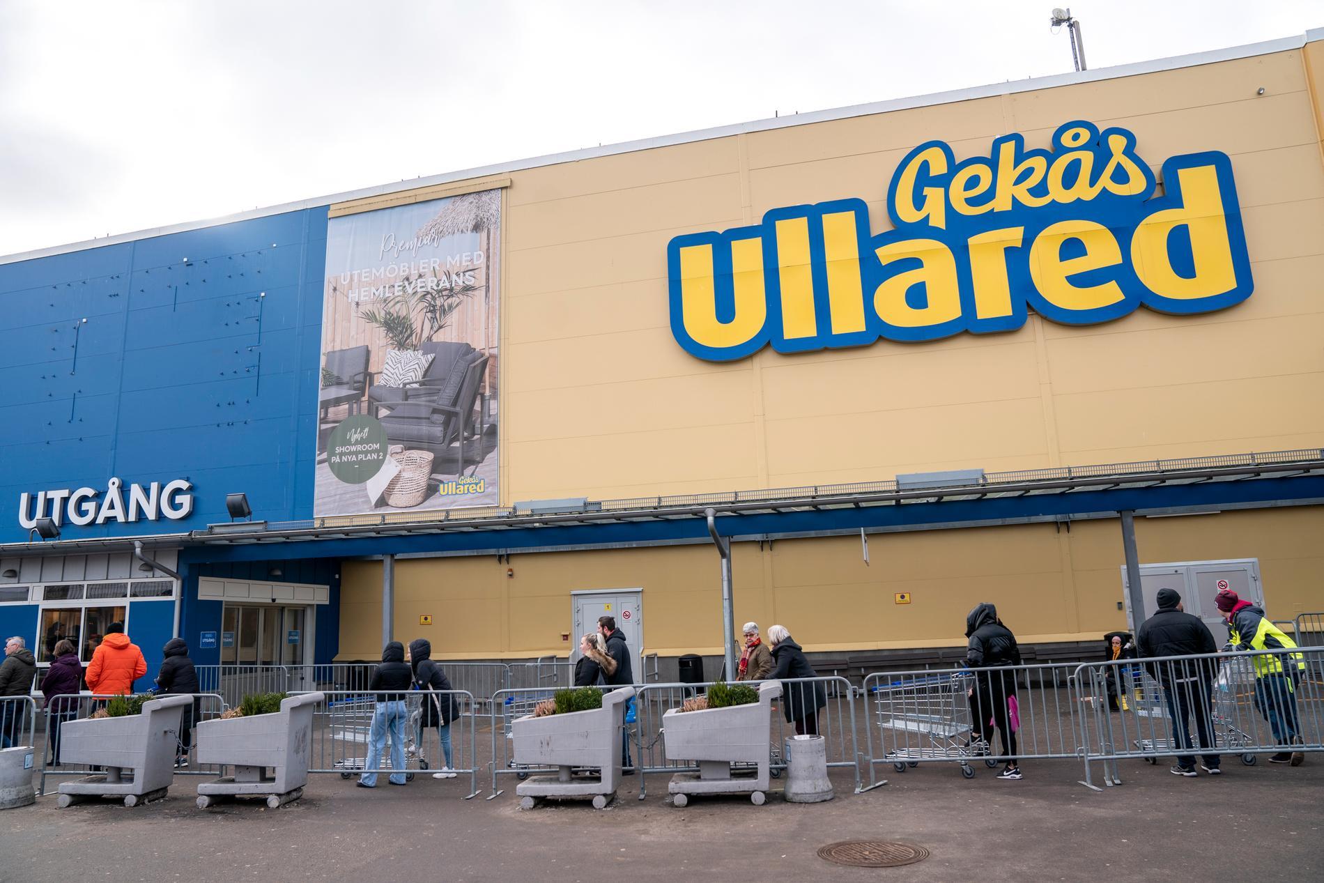 Ett slagsmål utbröt på lördagseftermiddagen på köpcentret Gekås i Ullared. Arkivbild.