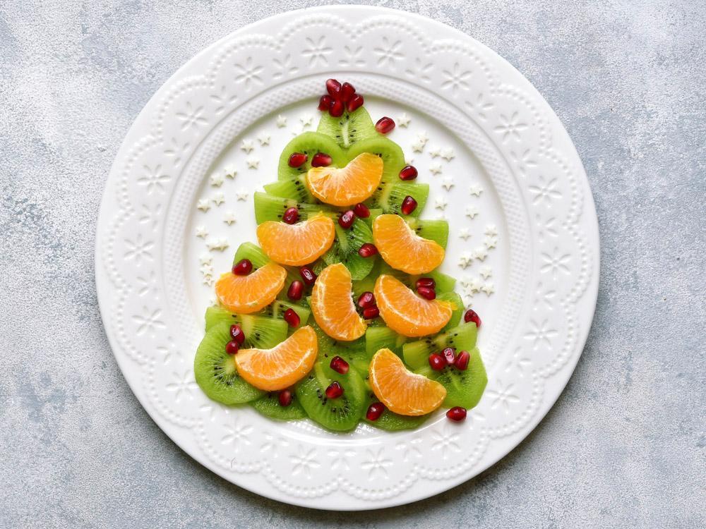 Fruktgranen är söt på alla vis.