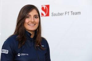 Tatiana Calderon gör Marcus Ericsson sällskap i Sauber.