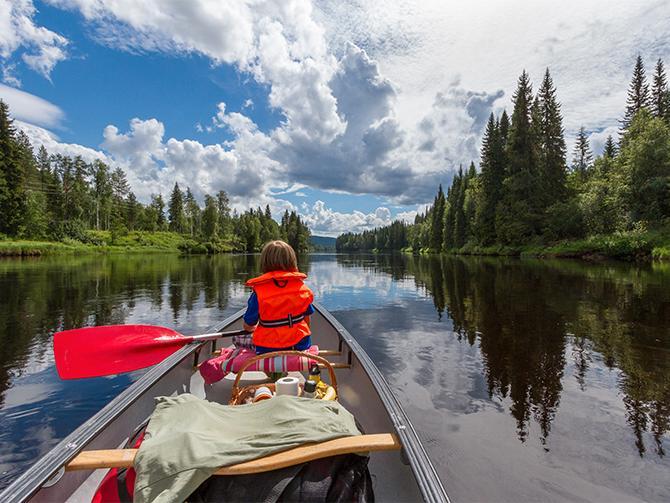 Om du gillar att paddla är Dalsland ett perfekt resmål.
