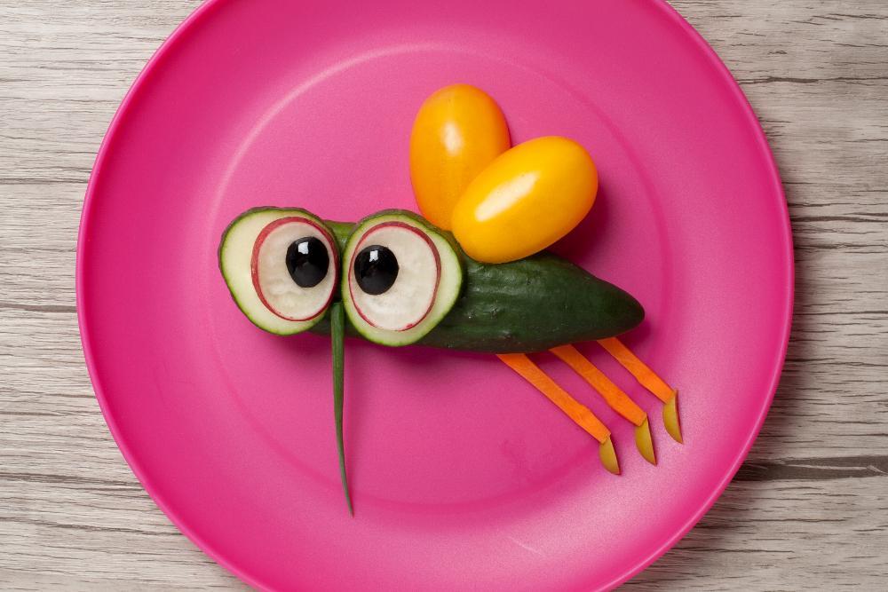 Flygande grönsaker