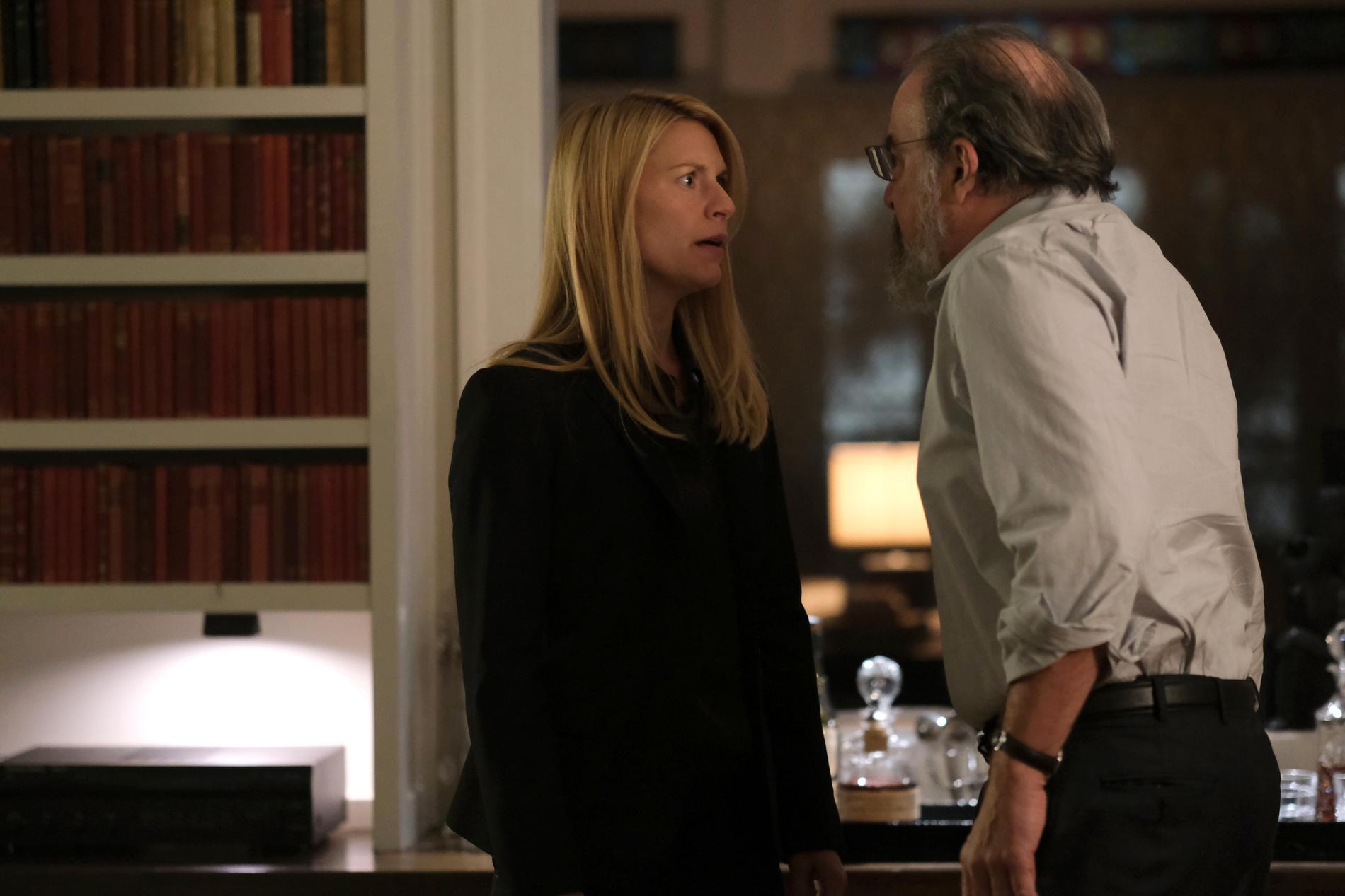 Carrie (Claire Danes) och Saul (Mandy Patinkin).