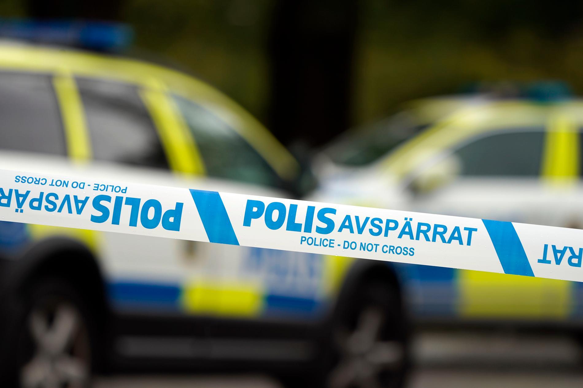 Nationella bombskyddet är på plats polishuset i Gävle. Arkivbild.