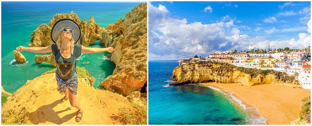 Ett avslappnat lugn och en genuin värme präglar Algarvekusten.