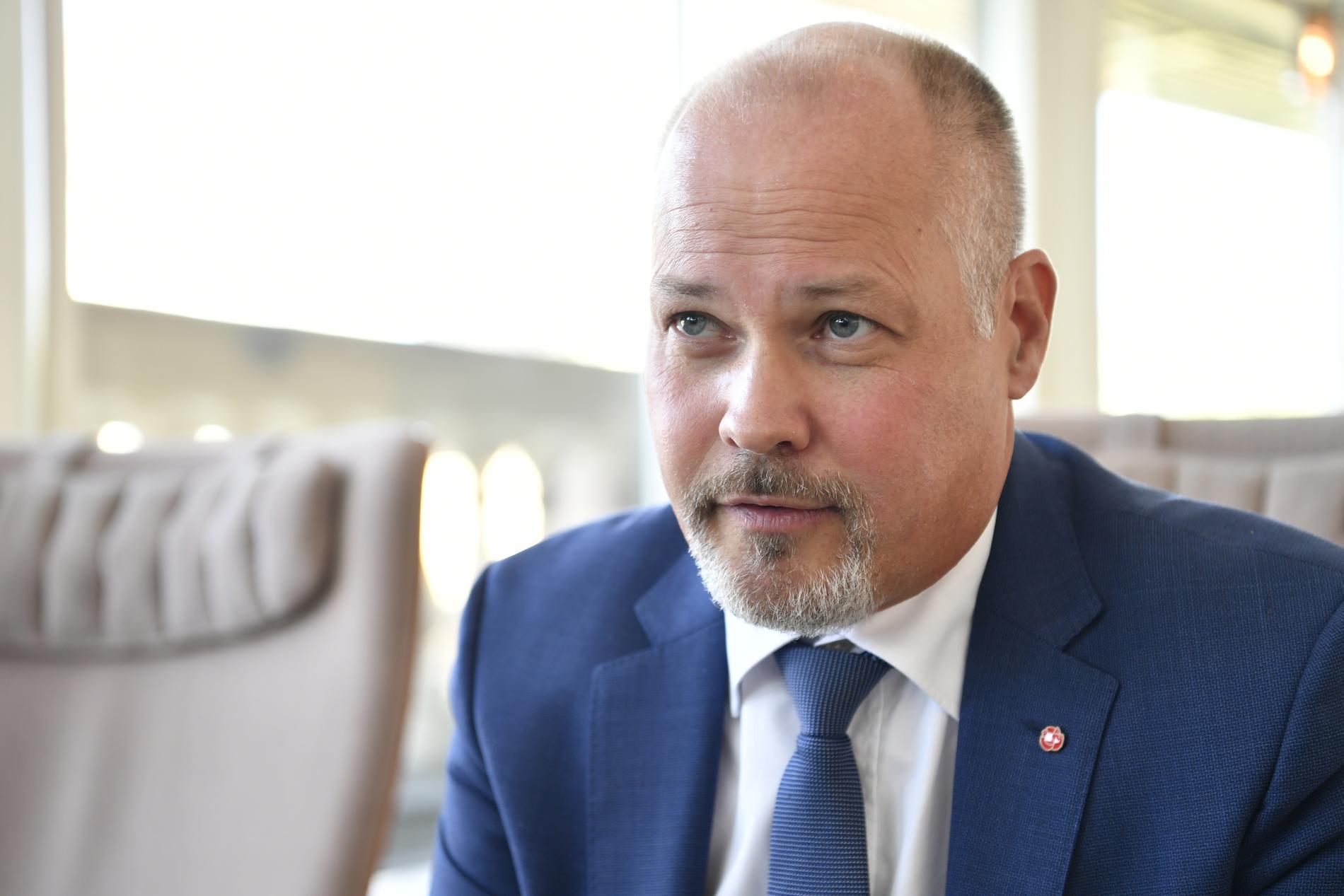 Justitieminister Morgan Johansson (S). Arkivbild