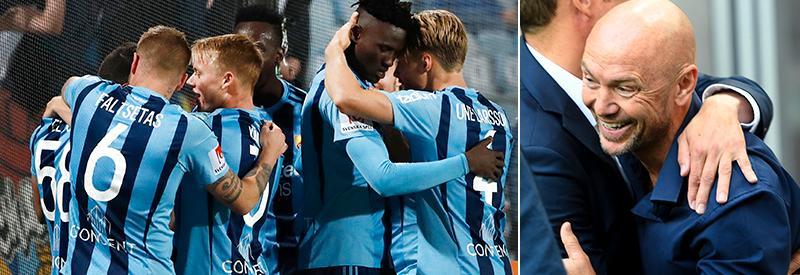 Mark Dempsey har lyft nu Djurgården och han lär bli kvar i klubben.