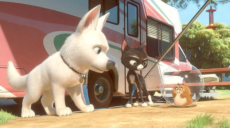 """""""Bolt"""" bjuder på slapstick för barnen och smarta skämt för de vuxna."""