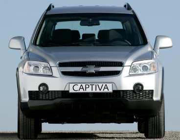 Chevrolet Captiva Kommer: juni. Ännu en avkomling av konceptbilen Antara. Bygger på asienversionen S3X. Delar een hel del material med kommande Opel Antara.