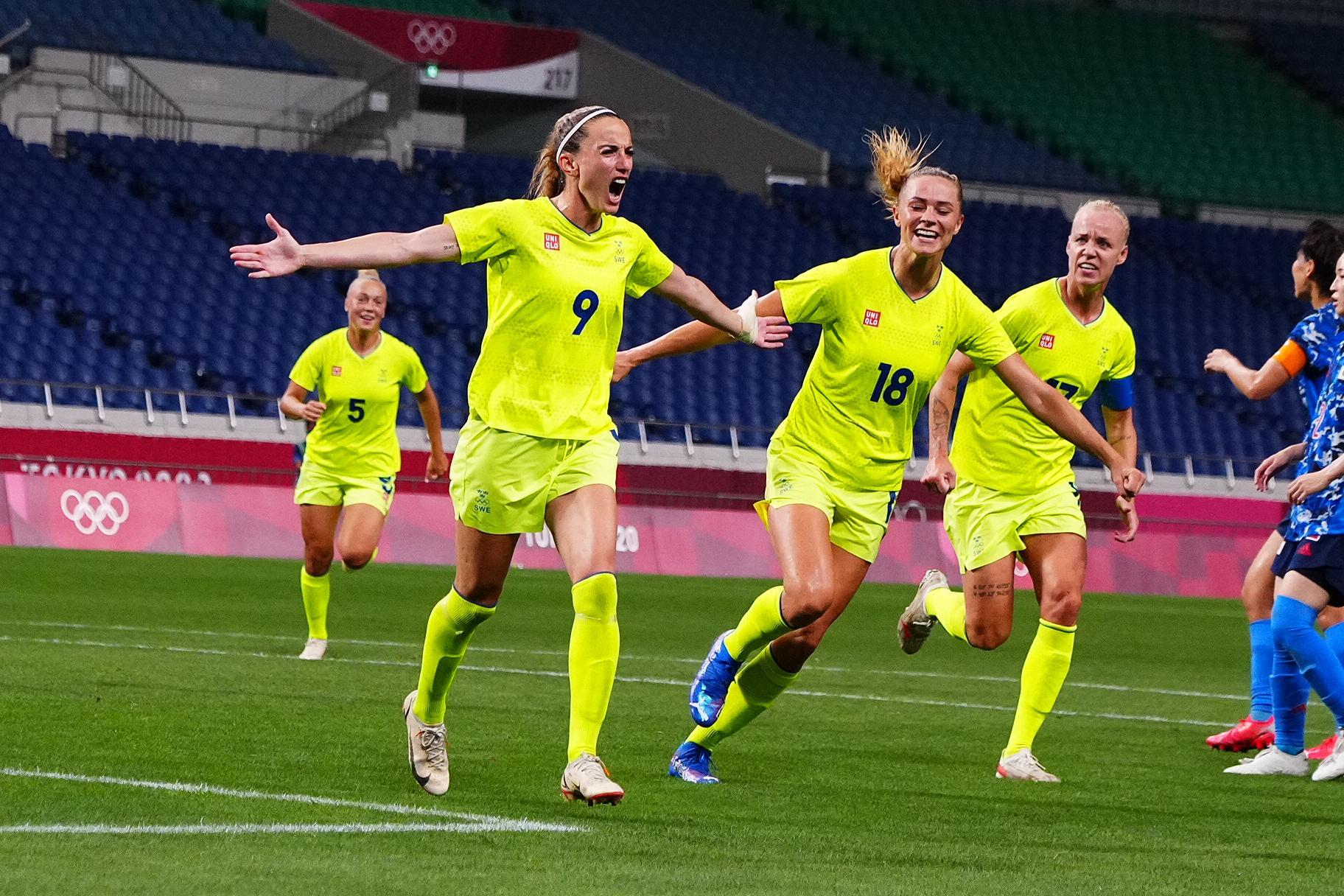 Kosovare Asllani satte 3–1-målet.