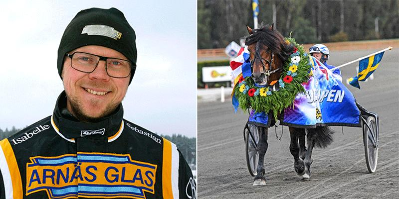 Björn Karlsson vill gärna besegra Månlykke A.M. i Nordgubbens Minne.
