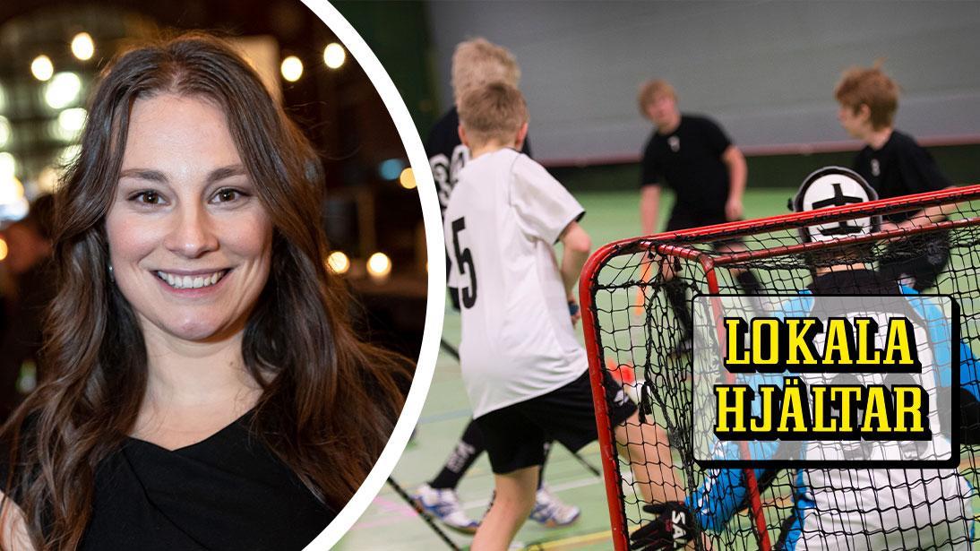 Uppsalabon Louise Hammarbäck utbildar idrottsrörelsen i barnkonventionen.