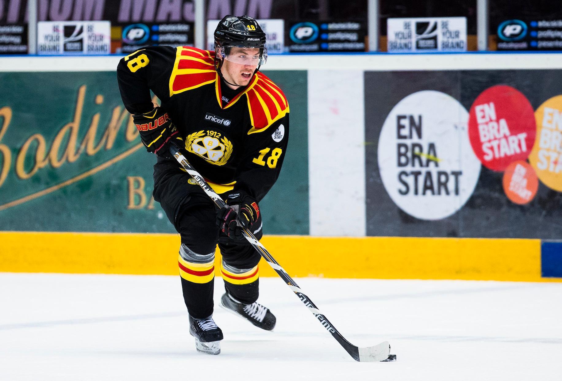 """Jagad """"Om han bestämmer att röra på sig kommer vi att engagera oss hårt"""", säger Luleås sportchef Lars Bergström om Anton Rödin."""