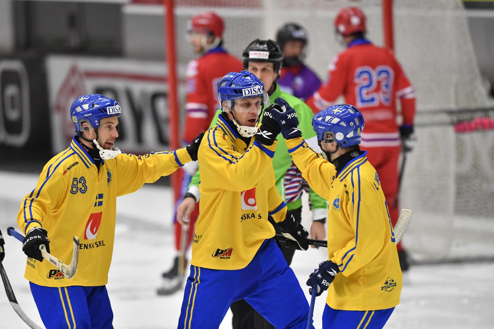 Sverige är regerande världsmästare i bandy